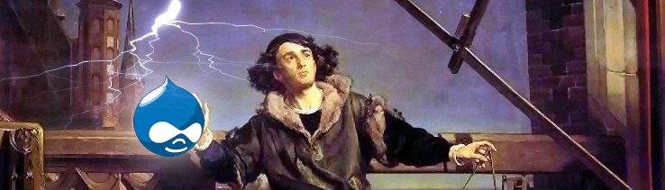 Kopernik walczy z Drupalem