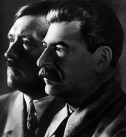 Hitler i Stalin - dwóch sprawców totalitarnego terroru